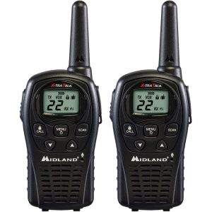 10221 Pair Of Midland Walkie Talkies
