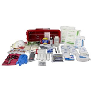 Bleed Control Trauma Management Station - Red, SKU 10360