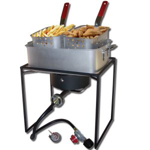 King Kooker #1618-16in Rectangular Cooker With Pan Package